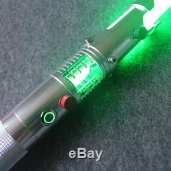 Hot Star Wars Lightsaber Replica Force FX Heavy Dueling Crystal Metal Handle