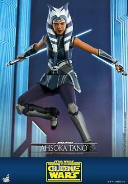 Hot Toys Star Wars The Clone Wars 1/6th Ahsoka Tano Collectible Figure TMS021