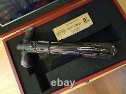 JK Sabers Star Wars the Force Awakens Kylo Ren Korbanth Lightsaber Hilt