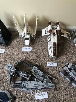LEGO Star Wars Collection Lot Sets and Minifigs 75094 75156 75021 75172 75155 +