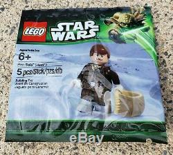 LEGO Star Wars White Boba Fett Minifig 30th Avsy, Darth Revan, Chrome ST, TC-14