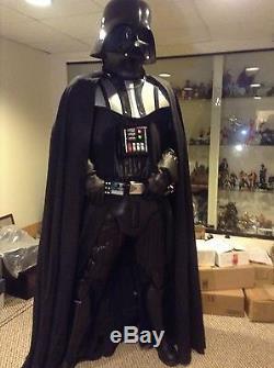 LIFE SIZE Darth Vader Star Wars Prop Replica Statue Figure ESB ROTJ Sith Lord