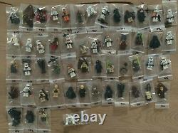 Lego Star Wars Complete Collection 797 different Minifigures with Rares