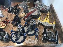Lego Star Wars Huge Collection-498 Minifigs-Around 56 Sets