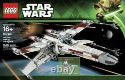 Lego Star Wars UCS Collection 75060 Slave 1, 75095 Tie Fighter & 10240 X-Wing
