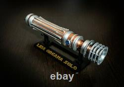 Leia Organa Solo lightsabers with stand Star Wars IX Rise of Skywalker