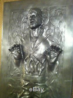 Life Full Size Han Solo In Carbonite Prop Statue Star Wars