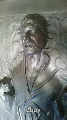 Life Full Size Han Solo In Carbonite Prop Statue Star Wars 11