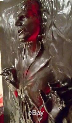 Life Full Size Han Solo In Carbonite The Thaw Prop Statue Star Wars