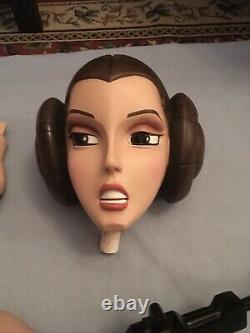 Life Size Animated Leia Monument By Gentle Giant
