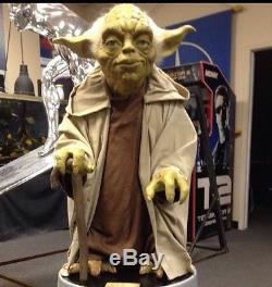 Life Size Star Wars Ultimate Yoda Collection Gentle Giant