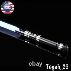 Lightsaber RGB Force FX Heavy Dueling Rechargable Metal Handle Jedi Light Saber