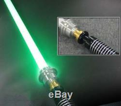 Luke Skywalker Lightsaber Force FX Heavy Dueling Rechargeable Metal Handle UK