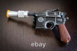 Luke Skywalker Merr-Sonn Model 57 blaster Star Wars Props Cosplay
