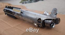 Luke Skywalker TLJ Weathered Graflex 2.0 Lightsaber TFA Korbanth Parks Upgraded