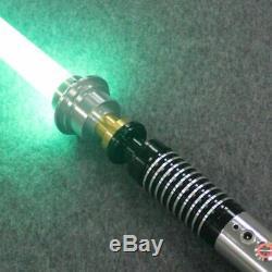 Luke Sterne Jedi Licht Saber Mit Sound Vader Schwert Verfärbung Metall Griff