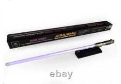 MR Master Replicas Star Wars Mace Windu F/x lightsaber non-Hasbro Black series