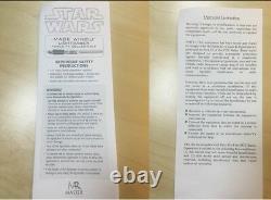 MR Master Star Wars Replicas Mace Windu Lightsaber FX metal Limited IN STOCK