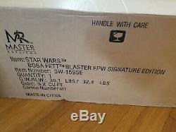 Master Replicas Boba Fett Blaster, Signature Edition Star Wars Collectible