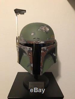 Master Replicas Boba Fett Helmet Ep. V Limited Edition #783/1500 Star Wars ESB