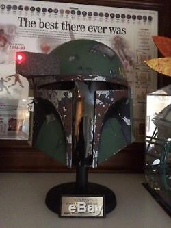 Master Replicas Boba Fett Helmet Limited Edition 469/1500