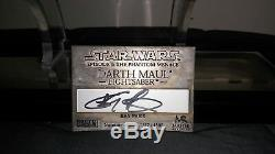 Master Replicas Darth Maul Lightsaber Signature Edition (Signed by Ray Park)