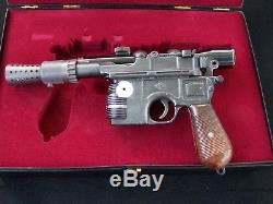 Master Replicas Han Solo Blaster SW-101 Star Wars A New Hope ANH #491
