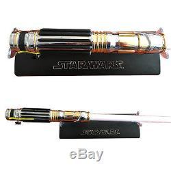 Master Replicas MR Star Wars Mace Windu Lightsabers 2005 sale of rare stock-NEW