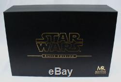 Master Replicas Star Wars Han Solo Blaster Replica Sw-160 Elite Artist Proof New
