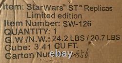 Master Replicas Stormtrooper Blaster #2856/3500 -RARE Star Wars Prop Replica