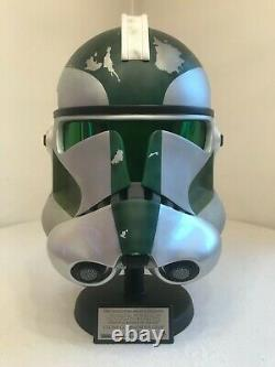Master replicas star wars helmet Commander Gree Helmet #245500