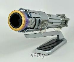 NEW BEN SOLO Disney park Legacy Lightsaber with 36 blade Star Wars Galaxy's Edge