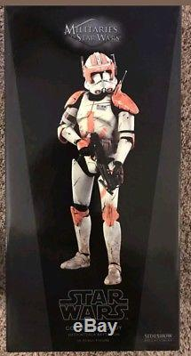 New Hot Sideshow Collectibles Star Wars Commander Cody 1/6 Figure