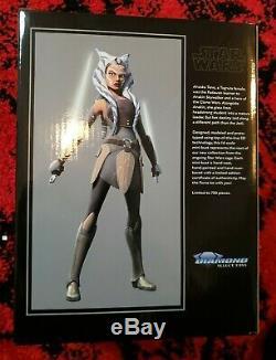 NEW Sealed Star Wars Gentle Giant Ahsoka Tano Mini-Bust # 36 / 750