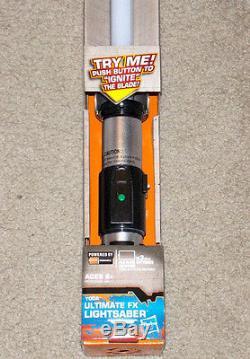 NEW Star Wars Rebels YODA Ultimate FX Lightsaber Green Blade Jedi Hasbro Toy