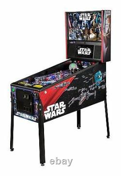 NEW Stern Star Wars PRO Pinball Machine Free Shipping Ships March