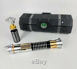 NIB Disneyland Star Wars Galaxys Edge Luke Skywalker Legacy Lightsaber GIFT SET