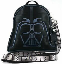 New Disney Harveys Star Wars Darth Vader Convertible Crossbody Backpack Purse