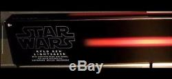 New Disney Parks Exclusive Star Wars Kylo Ren Lightsaber With Stand
