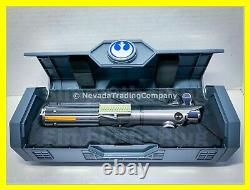 New Sealed & In Hand Star Wars Galaxy's Edge Rey Luke Anakin Legacy Lightsaber