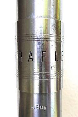 ORIGINAL Vintage Graflex 3 Cell Flash Red Button STAR WARS LIGHTSABER NO RES