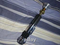 Obi wan kenobi lightsaber master replica limited edition prop hilt
