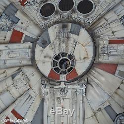 PG Perfect Grade Star Wars Millennium Falcon 1/72 model kit Bandai U. S. Seller