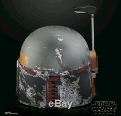 PRE ORDER Star Wars The Black Series Boba Fett Premium Electronic Helmet 5/4/20