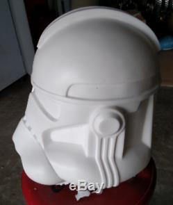 Phase II Clone Trooper Helmet 11 Scale (RAW Cast)