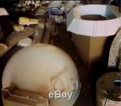 R2 D2 Star Wars 3 Leg Life Size High Quality Fibreglass Film Grade Kit New