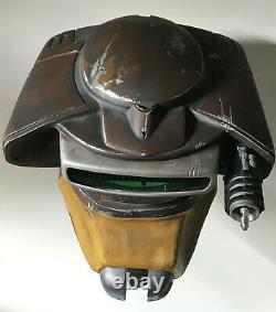 RARE Star Wars VI Return of the Jedi Clothears Boushh Helmet RS Prop Masters