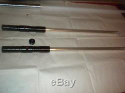 Rare Darth Maul Style Red Double Lightsaber Staff New Dueling FX 32 inch blades