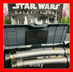 SEALED Disneyland Star Wars Galaxy's Edge LEGACY LIGHTSABER Ahsoka Tano NEW HILT