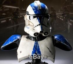 SIDESHOW STAR WARS LE 11 LIFE-SIZE VADER'S FIST 501st LEGION BUST STATUE FIGURE